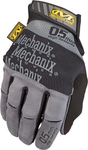 Mechanix 0.5 New Original Glove (Black/Gray) - Back View