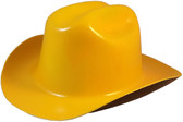 Outlaw Cowboy Hardhat with Ratchet Suspension Yellow - Oblique View