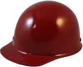 Skullgard Cap Style With Ratchet Suspension MAROON - Oblique View