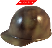 MSA Skullgard (LARGE SHELL) Cap Style Hard Hats with Ratchet Suspension - Textured CAMO  - Oblique View
