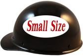 MSA Skullgard (SMALL SIZE) Cap Style Hard Hats with Ratchet Suspension - Black -  - Left Side View