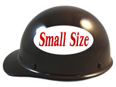MSA Skullgard (SMALL SIZE) Cap Style Hard Hats with Ratchet Suspension - Brown - Left View