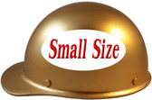 MSA Skullgard (SMALL SIZE) Cap Style Hard Hats with Ratchet Suspension - Gold - Left Side View