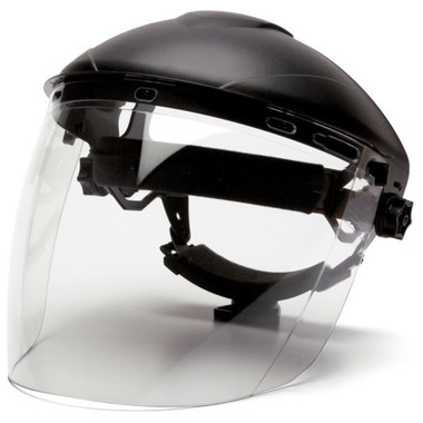 Pyramex Tapered Polycarbonate Clear Faceshield pic 1
