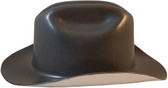 Outlaw Cowboy Hardhat with Ratchet Suspension Textured Gunmetal - Right Side View