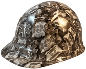 First Responder Hydro Dipped Cap Style Hard Hats - Oblique View