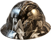 Dream Girls Full Brim Hydro Dipped Hard Hats - Oblique View