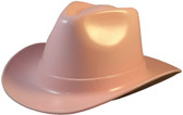 Occunomix Western Cowboy Hard Hats ~ Light Pink - Oblique View