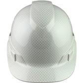 Pyramex Cap Style RIDGELINE Hard Hat Shiny White Pattern - Front