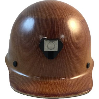MSA Skullgard Cap Style With STAZ ON Suspension Natural Tan ~ Front View