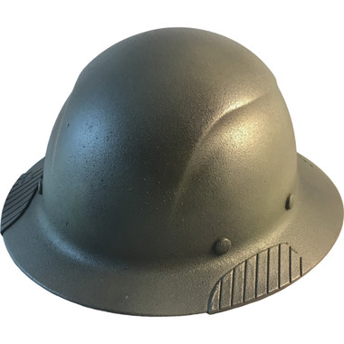 Actual Carbon Fiber Hard Hat - Full Brim Textured Camo  - Oblique View