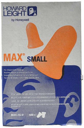 Howard Leight Max Small Earplugs 500 count