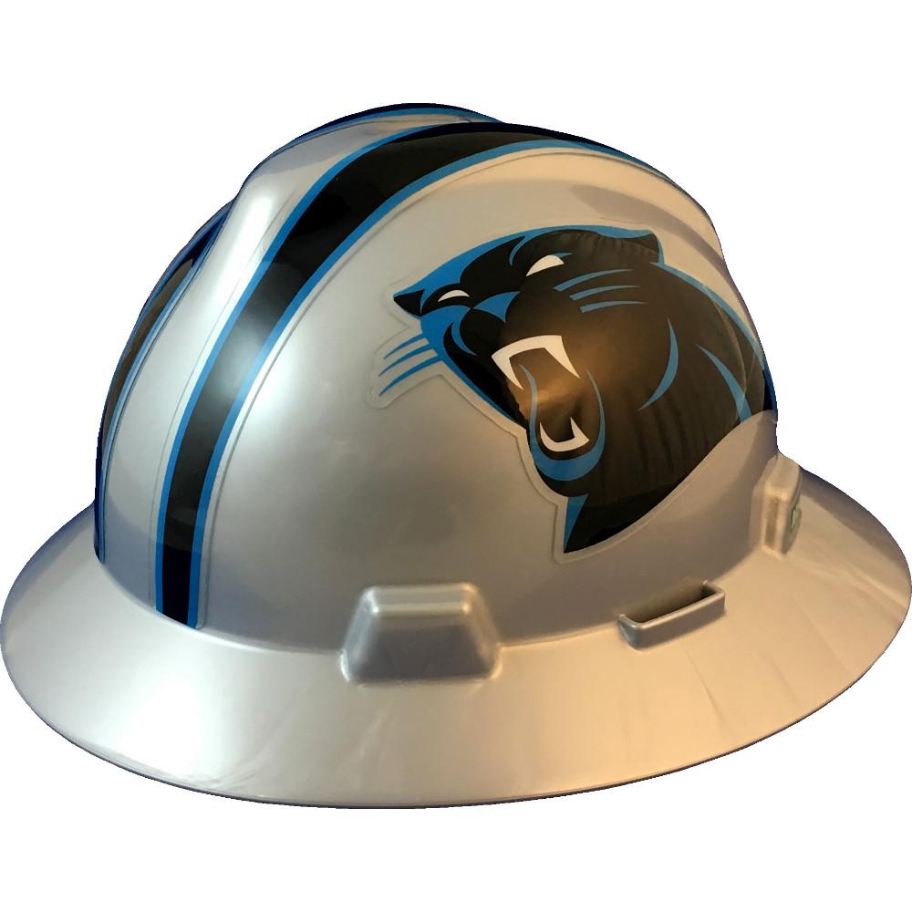 finest selection 1221f 7cbb1 Carolina Panthers Full Brim Hard Hats