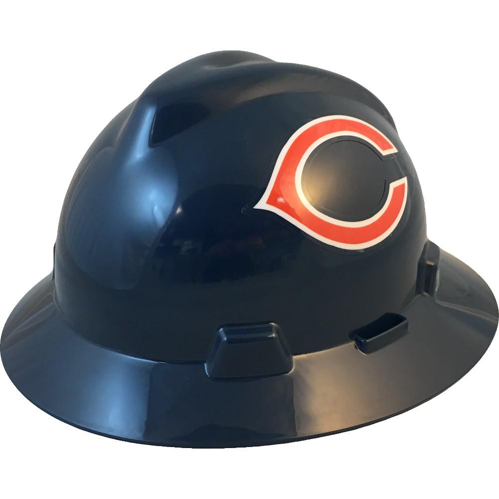 1a13050f Chicago Bears Full Brim Hard Hats