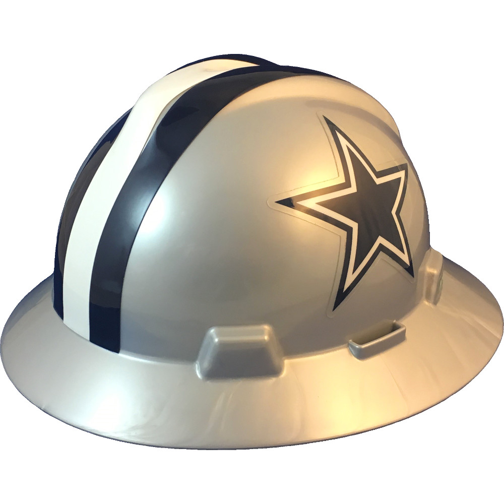 8018176cc14f42 Dallas Cowboys Full Brim Hard Hats | Buy Online at T.A.S.C.O.