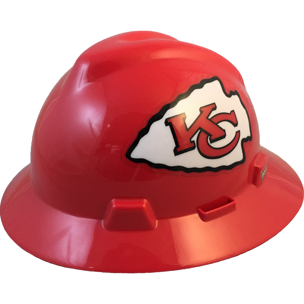 e69b04de Kansas City Chiefs Full Brim Hard Hats