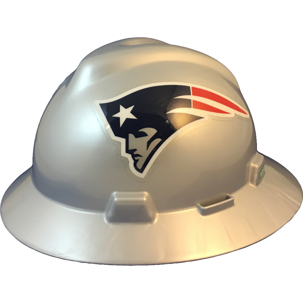 3c2e8a17bf11ff New England Patriots Full Brim Hard Hats | Buy Online at T.A.S.C.O.