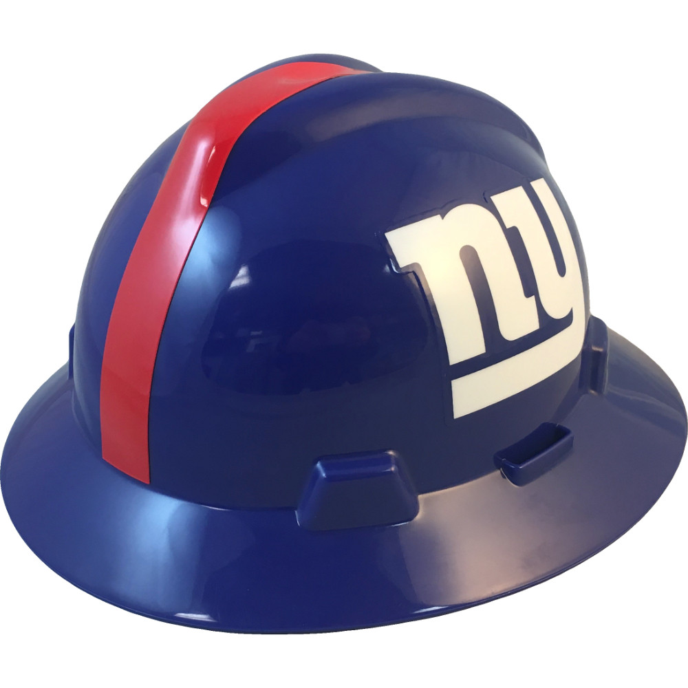 b610a31b6fa9e8 New York Giants Full Brim Hard Hats | Buy Online at T.A.S.C.O.