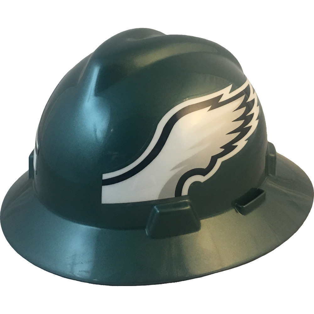 b4005b0c9372a ... Philadelphia Eagles Full Brim Hard Hats. Oblique View. Loading zoom