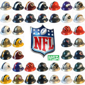 All MSA NFL Full Brim Hard Hats