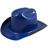 Outlaw Cowboy Hardhat with Ratchet Suspension Royal Blue - Oblique View