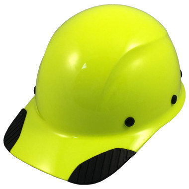 DAX Hard Hat - Cap Style High Vision Lime - Oblique View
