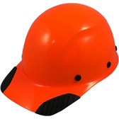 DAX Hard Hat - Cap Style High Vision Orange - Oblique View