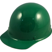 Skullgard Cap Style With Ratchet Suspension Green - Oblique View