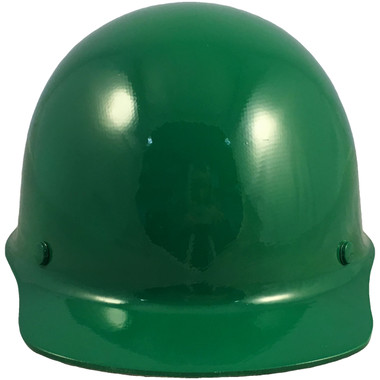 Skullgard Cap Style With STAZ ON Suspension Green - Front View
