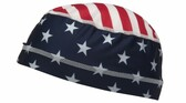 Pyramex Cooling Skull Cap Liner - American Flag (CSK1FLG)