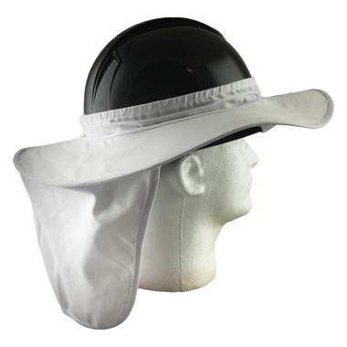 Pyramex Hard Hat Brim with Neck Shade - White (HPSHADE10)