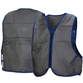 Pyramex Cooling Vest Series - Class 2 Gray Safety Vests (CV100)