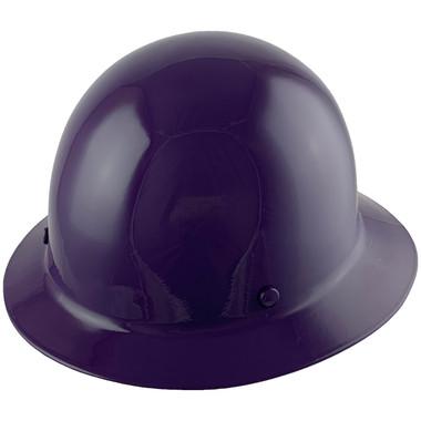 MSA Skullgard Full Brim Hard Hat with FasTrac III Ratchet Suspension - Purple
