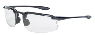 Radians Crossfire Safety Glasses with Clear Lens