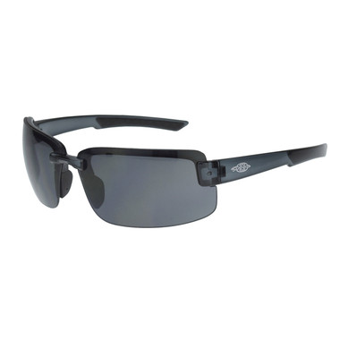 Radians ES6 Crossfire Safety Glasses with Smoke Lens