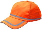 ERB Soft Bump Cap (Cap and Insert) - Hi Viz Orange - Oblique View