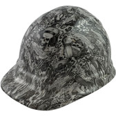 Skeleton Sailors Style Cap Style Hydro Dipped Hard Hats - Oblique View
