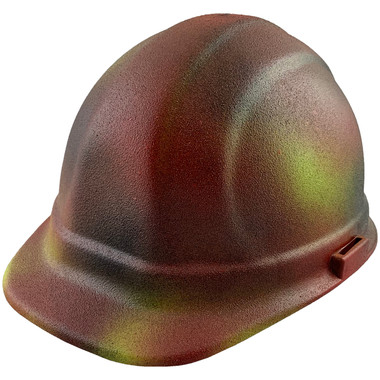 ERB Omega II Cap Style Hard Hats w/ Pin-Lock Paintball Camo Color pic 1