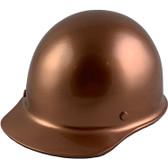 Skullgard Cap Style With Ratchet Suspension Copper ~ Oblique View
