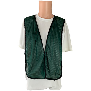Dark Green Soft Mesh Plain Safety Vest