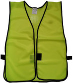 Lime Soft Mesh Plain Safety Vest