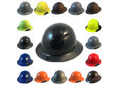 Actual Carbon Fiber Hard Hat - Full Brim All Colors