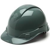 Pyramex Ridgeline Cap Style Hard Hats Gray - Oblique View