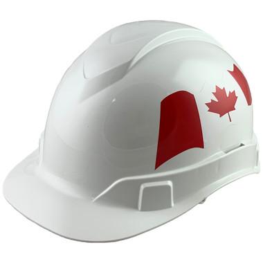 Pyramex Ridgeline Cap Style Hard Hats White - Oblique View
