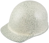 MSA Skullgard Cap Style With Ratchet Suspension Textured Stone - Oblique View