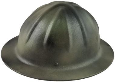 SkullBucket Aluminum Full Brim Hard Hats with Ratchet Suspensions - Textured - Oblique View