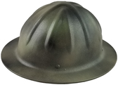 SkullBucket Aluminum Full Brim Hard Hats with Ratchet Suspensions - Textured - Oblique View