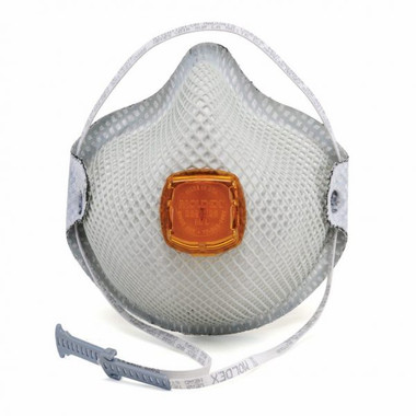 MOLDEX 2800 N95 Respirator with Handy Strap and Valve (10 per box), Part #MOL2700 Pic 1