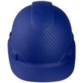 Pyramex Cap Style RIDGELINE Hard Hat Blue Pattern - 6 Point Suspensions ~ Front Side Oblique View