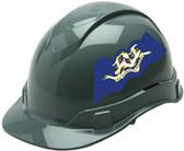 Pyramex Ridgeline Cap Style Hard Hats - Connecticut Flag ~ Profile